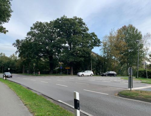 Kreisverkehr an der Kreuzung Hermann-Ehlers-Straße/Bloher Landstraße